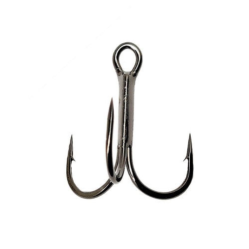Gamakatsu 2x Round Bend Treble Hook