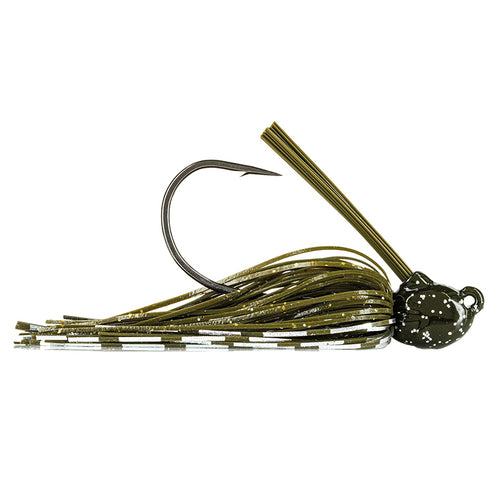 Molix GT Swim Jig 3/8 oz / Green Pumpkin Flash