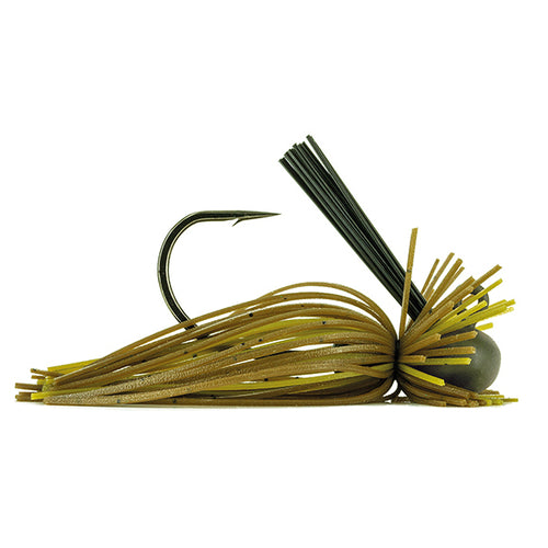 Molix MF Jig 3/8 oz / Green Pumpkin Special