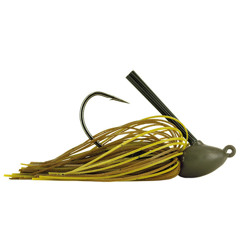 Molix Tenax Wide Gap Flipping Jig 1/2 oz / Green Pumpkin Special