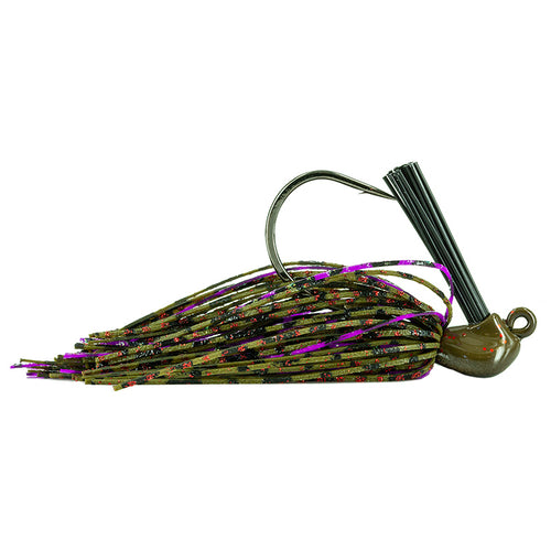 Molix Kento Jig 1/2 oz / Green Pumpkin Red/Purple