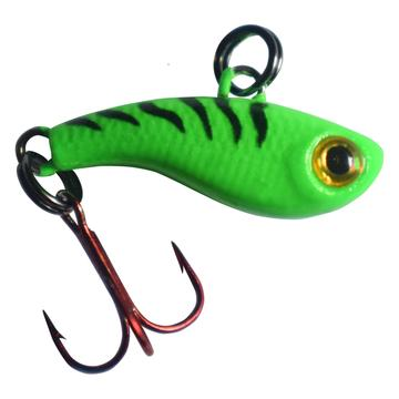 "Kenders T-Rip Mini Vibe Bait 3/4"" / Green Tiger"