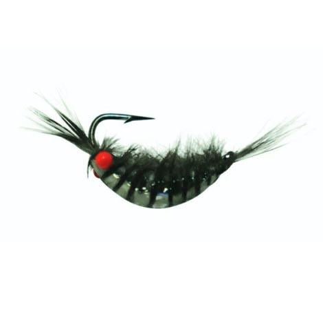Kenders Tungsten Akua Red Eye Shrimp Jig