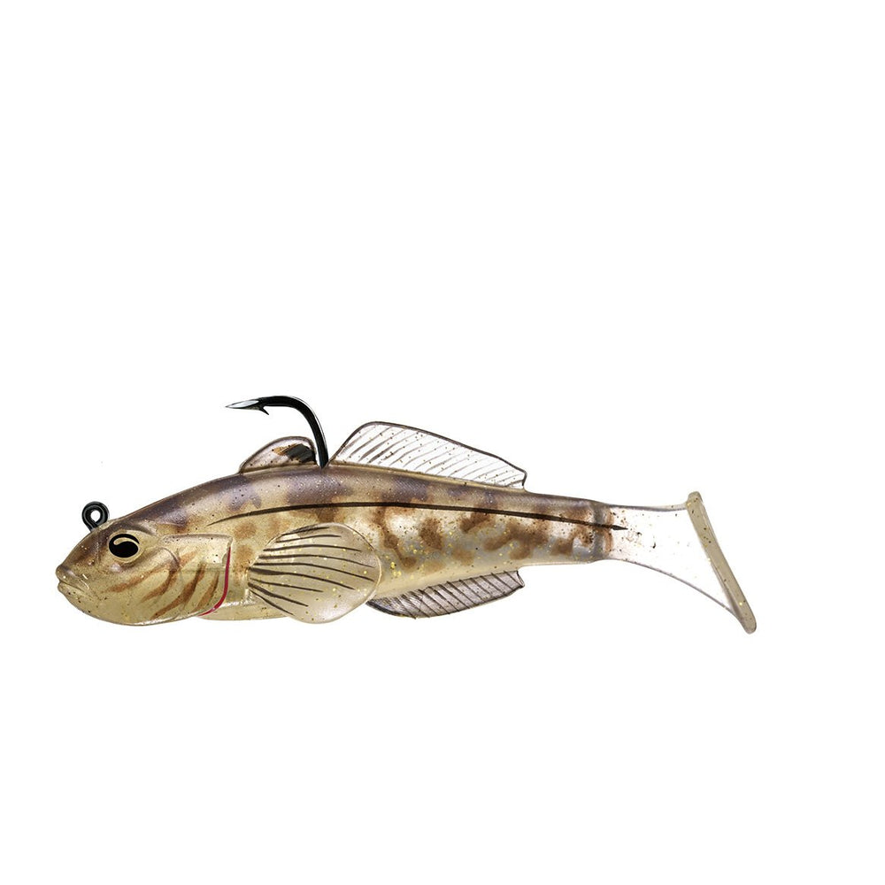"""Live Target Goby Paddle Tail Natural / 3 1/4"""""""
