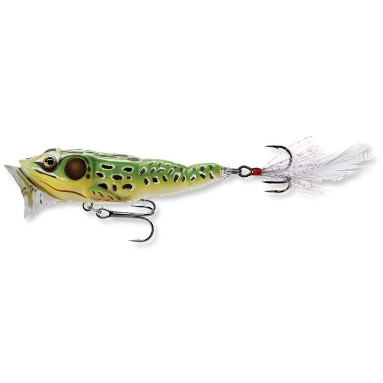 """Live Target Frog Popper 2"""" / Green Yellow"""