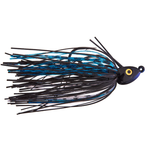 Cumberland Pro Lures Limit Out Compact Swim Jig 1/4 oz / Midnight Shad