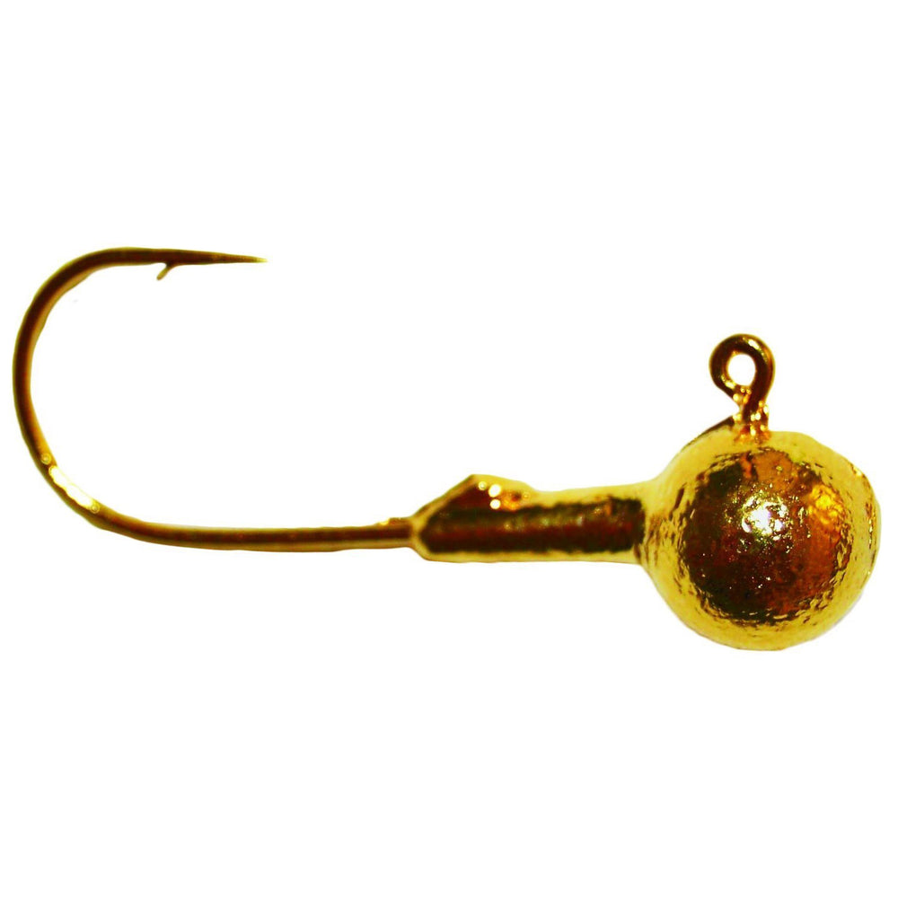 Mission Tackle Gold Round Head Jig 1/8 oz / GOLD