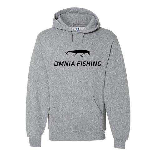 Omnia Fishing Jerkbait Hooded Sweatshirt Medium