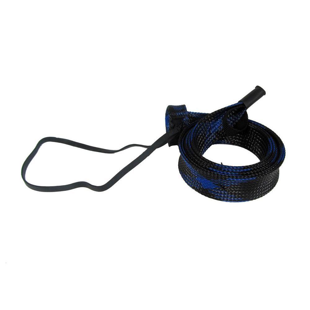 Outkast Tackle SLIX Casting Rod Cover Up to 7 ft / Black/Blue