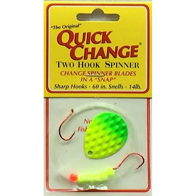 Quick Change Crawlers Harness CHARTREUSE / GREEN / #4 COLORADO