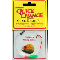 Quick Change Quick Death Spinner Rig GOLD SHINER / #3 COLORADO
