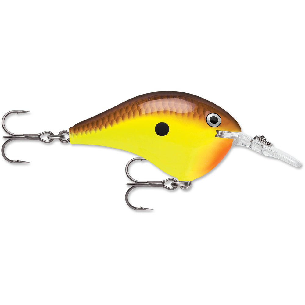 """Rapala DT 6 CHARTREUSE BROWN / 2"""""""