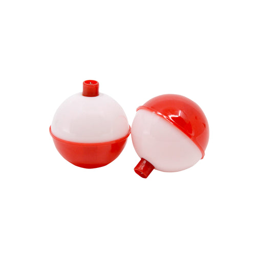 """Vanguard Tackle Red and White Float Bobbers 3/4"""""""