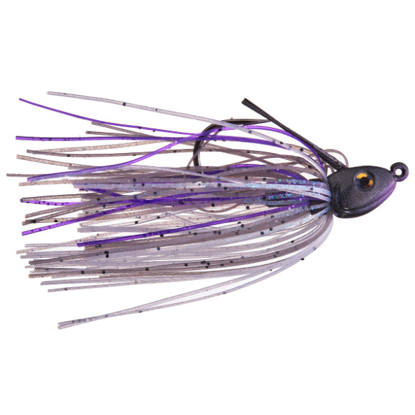Cumberland Pro Lures Limit Out Compact Swim Jig 1/4 oz / Royal Shad