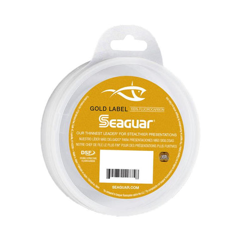 Seaguar Gold Label Flourocarbon 6 Lb / 25 Yards
