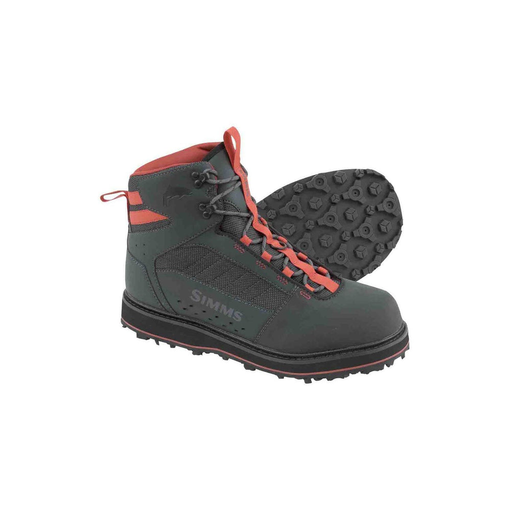 Simms Men's Tributary Wading Boot - Rubber Sole 6 / Carbon