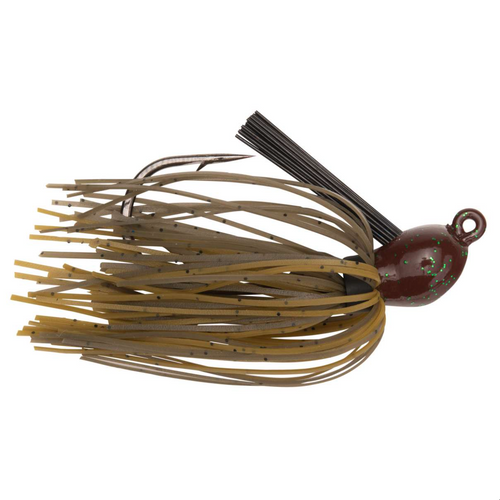 Strike King Bitsy Flip Jig 1/4 oz / Green Crawfish