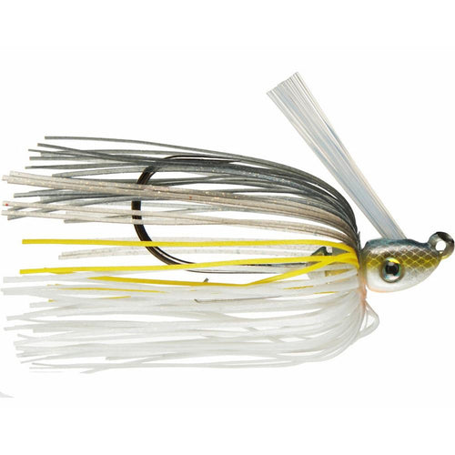 Strike King Hack Attack Heavy Cover Swim Jig 1/2 oz / Chartreuse Sexy Shad