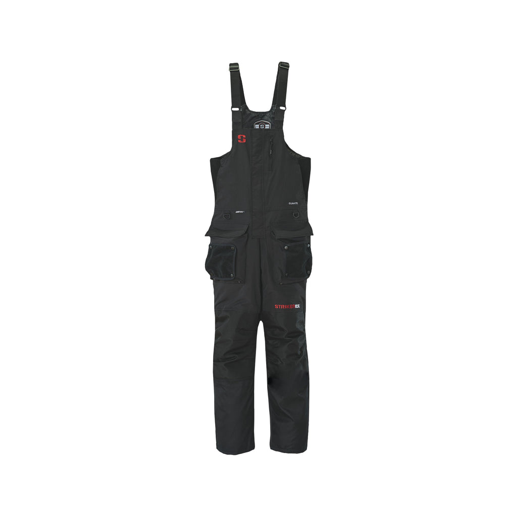 Striker Ice Climate Bib XXLarge / Black