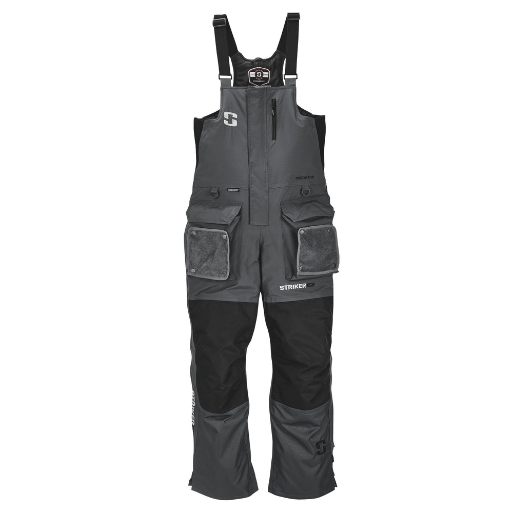 Striker Ice Predator Bib Small / Gray