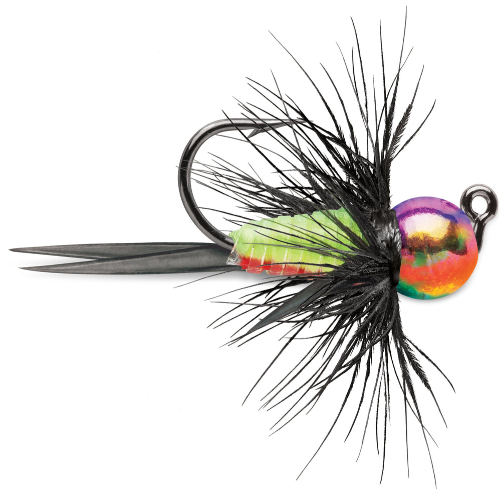 VMC Tungsten BullFly Jig 1/32 oz / Metallic Rainbow