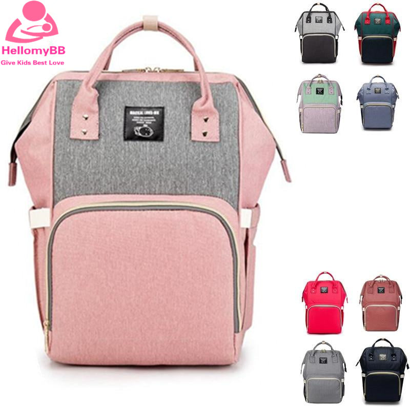 Nappy Backpack Bag Mummy Waterproof Outdoor Travel Diaper Bags Online Shop - hellomybb