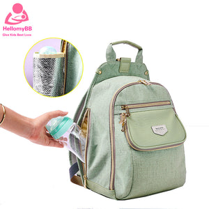 Diaper Bag for girls Baby Backpack high quality Mummy Maternity Nappy Fashion Bag - hellomybb