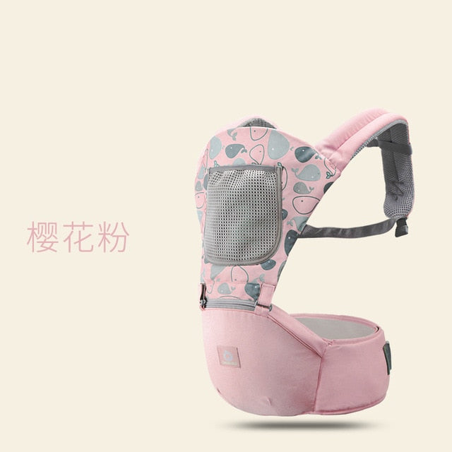 Breathable Ergonomic Baby Carrier Backpack Infant Baby Backpack Carriers Front Facing - hellomybb
