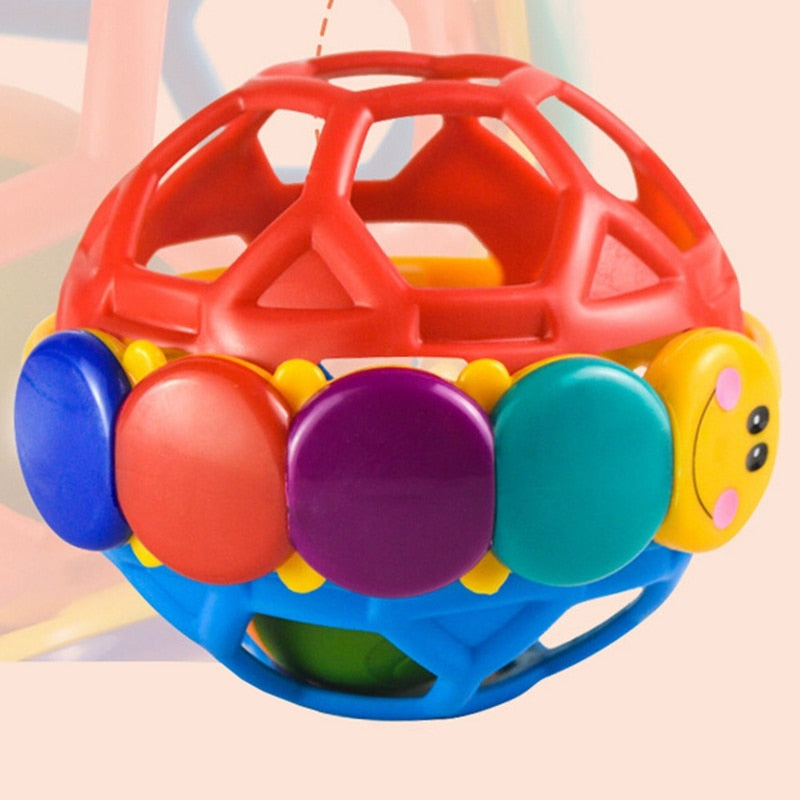 0-12 Months Baby Intelligence Toys  Ball Rattle Toy Develop Hand Bell Educational Toy - hellomybb