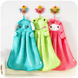Baby Nursery Hand Towel baby bath towels Wipe Hanging Bathing Towel For Children Bathroom