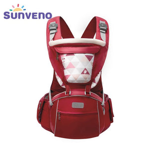 Baby Carrier Infant Toddler Front Facing Carrier Sling Kids Kangaroo Hipseat  0-36 Months - hellomybb