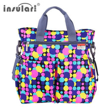 Load image into Gallery viewer, Diaper Bag for Girls Multifunctional Nappy Bags Waterproof Mommy Bag Tote hand - hellomybb