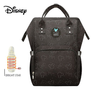 Disney Waterproof Diaper Bags USB Bottle Backpack Baby girl Diaper Bags - hellomybb