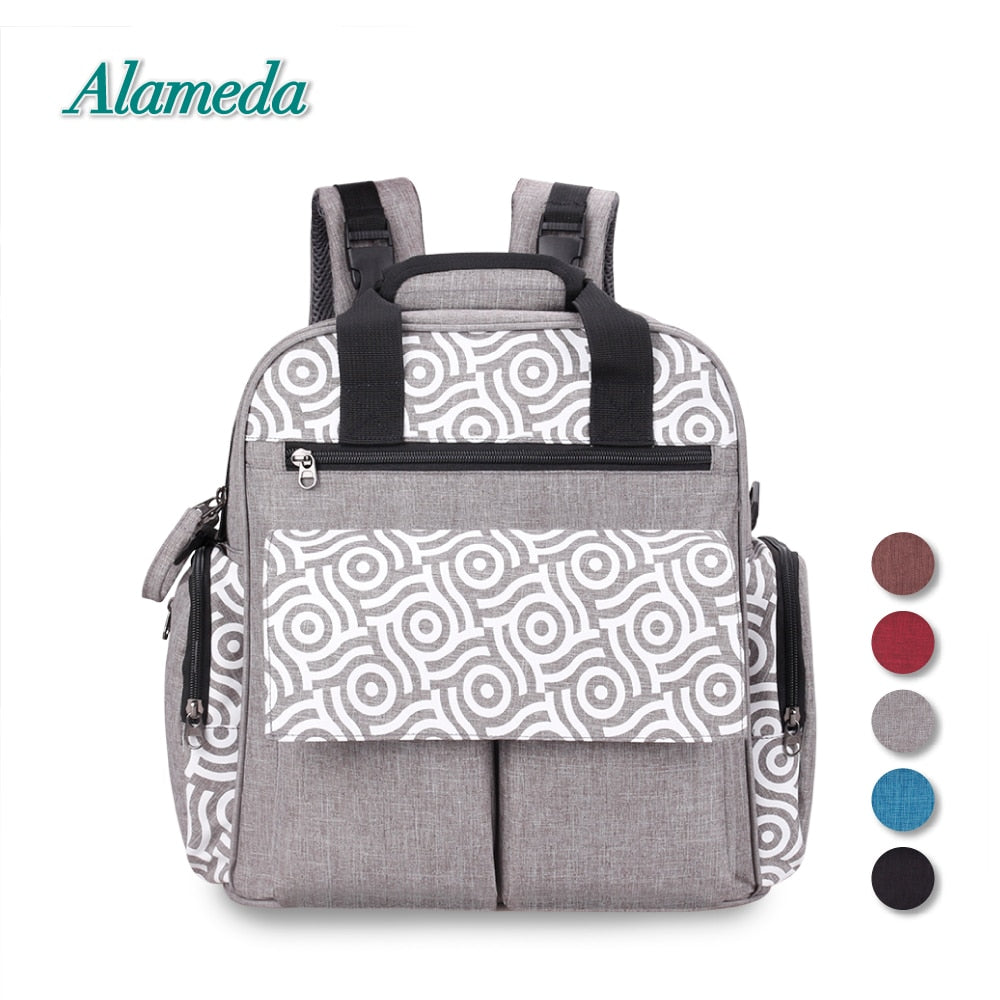 Convertible Diaper Bag Backpack Large Baby Bag Mummy Maternity Nappy for Baby Care - hellomybb
