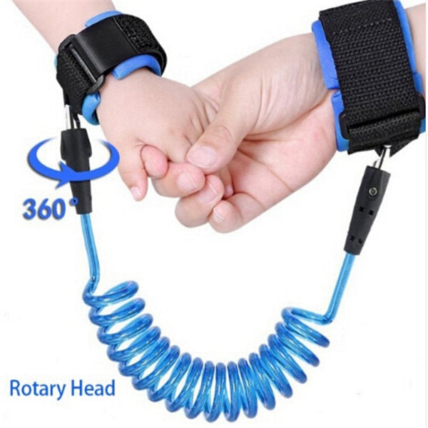 Anti Lost Wrist Link Toddler Leash Safety Harness for Baby Strap Rope Belt Band Anti-lost Wristband Kids - hellomybb