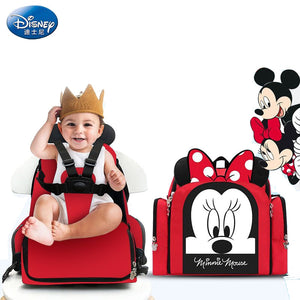 Disney Dining Chair Bag Multifunctional Diaper Bag Handbag Nappy Backpack Mummy Bags - hellomybb