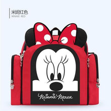Load image into Gallery viewer, Disney Dining Chair Bag Multifunctional Diaper Bag Handbag Nappy Backpack Mummy Bags - hellomybb