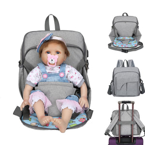 Baby bag maternity bag for baby large bags for diapers backpack for mom nappy 2 in 1 mummy backpack - hellomybb