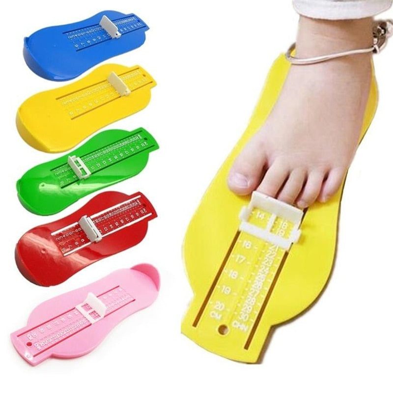 Baby Child Foot Measure Props Infant Feet Measure Shoes Fittings Gauge Device - hellomybb