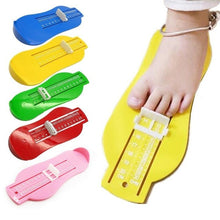 Load image into Gallery viewer, Baby Child Foot Measure Props Infant Feet Measure Shoes Fittings Gauge Device - hellomybb