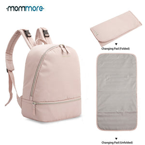 Travel Diaper Bag with Changing Pad Waterproof Nursing Bag for Baby Care - hellomybb
