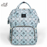Baby Diaper Bags Mother Travel Backpacks Nursing Bags for Two Kids - hellomybb