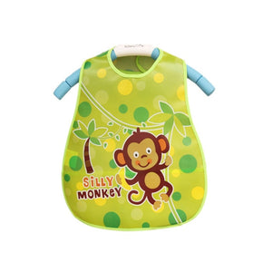 Cartoon Baby Bibs EVA Waterproof Newborn Translucent Bibs Feeding Kids Girls Boys - hellomybb