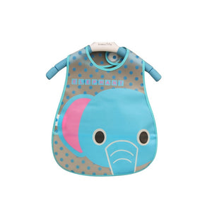 Cartoon Baby Bibs EVA Waterproof Newborn Translucent Bibs Feeding Kids Girls Boys
