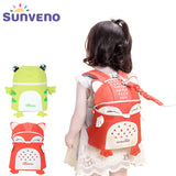 New SUNVENO Toddler Baby Harness Backpack Children Anit-Lost Bag Backpacks 3D Animal