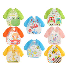 Load image into Gallery viewer, Cartoon-Baby-Bibs-EVA-Waterproof-Newborn-Translucent-Bibs-feeding-Kids-Girls-Boys