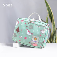 Load image into Gallery viewer, Diaper Bags Tote Fashion Maternity Bag for Reusable Baby Diaper Bag Double Handle - hellomybb