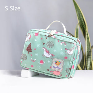 Diaper Bags Tote Fashion Maternity Bag for Reusable Baby Diaper Bag Double Handle - hellomybb