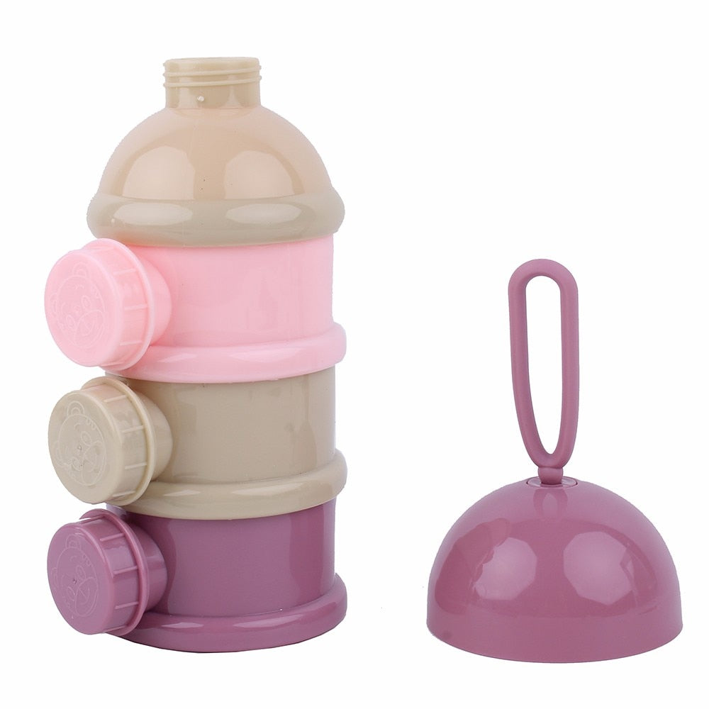 Portable Baby Milk Container Mini Seal Baby Feeding Box individual Cover-Hellomybb - hellomybb