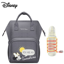 Load image into Gallery viewer, Disney USB Waterproof Diaper Bags Oxford Cloth Storage Bag Mummy Travel Backpack - hellomybb